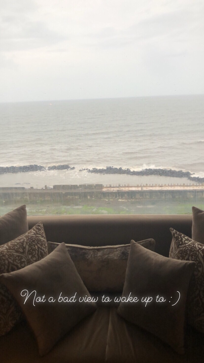 "alt= ""View from Taj Lands End"""